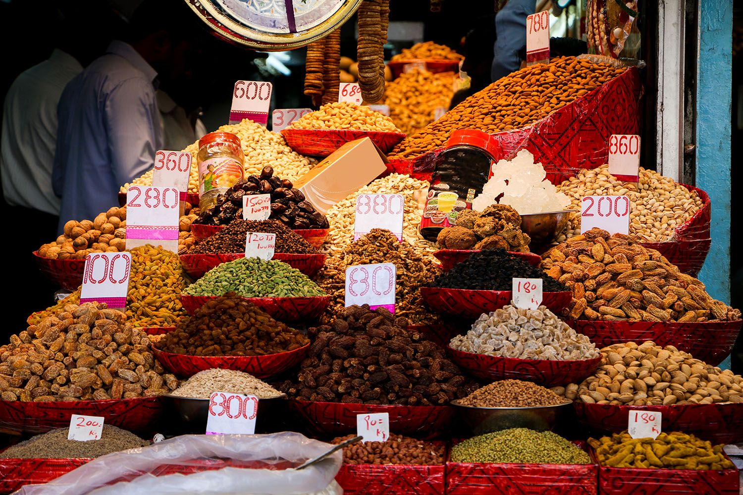 Dry food in Delhi's old town